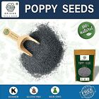 Poppy Seeds for Cooking, Dressing and Baking, 8 oz to 25 lb Bulk, Resealable Bag