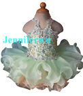 Infant/toddler/kids/baby/Girl's Pageant/prom/formal Dress 040-8