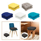 Solid Color Tufted Chair Pad Wicker Seat Cushions 48x48cm Outdoor/Indoor