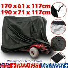 Mobility Scooter Wheelchair Waterproof Storage For Cover Rain Cover UV Protector