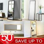 Full Length Mirror With LED Light Floor Standing Wall Mount Dressing Mirror