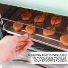 Retro Series 12-Slice Aqua Convection Toaster Oven with Built-in Timer