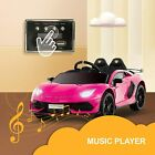 Kids Ride On Racing Car 12V Rechargeable Battery Powered w/ MP3 Optional- Color