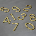 Traditional Style Brass Front Door House Numbers