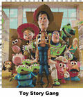 Toy Story Characters Counted Cross Stitch Patterns