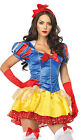 Adult Women's 2 Piece CLASSIC SNOW WHITE Costume! Sizes XS to M/L