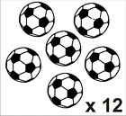 12 Football Stickers Car/Home Choice of 15 colours