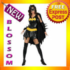 C1 Batgirl Batman Superhero Fancy Dress Costume XS S M