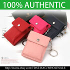 [OMNIA] KOREA Unisex  GENUINE LEATHER Card Case Holder KeyChain Holder Coins