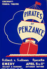 TH1 Vintage Pirates of Penzance Theatre Poster A1 A2 A3