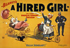 TZ12 Vintage Hired Girl Comedy Theatre Poster A1 A2 A3
