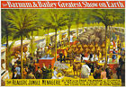 TZ68 Vintage Barnum Greatest Circus Poster A1 A2 A3