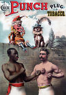 AD17 Vintage 1886 Punch Chewing Tobacco Advertisment Poster A1 A2 A3