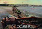 TU19 Vintage Tay Bridge Scotland Travel Railway Poster Print A3 A2