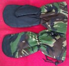 BRITISH ARMY DPM CAMO EXTREME COLD WEATHER RIPSTOP INNER MITTENS/GLOVES