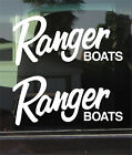 Ranger Boats Logo 10 Inch Vinyl Decal / Sticker Pair