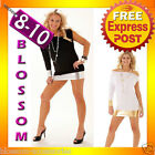 2091 Black White One Sleeve Dance Party Clubwear Mini Dress Sexy Womens Fashion