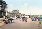 PS51 Vintage 1890's Deal Promenade Kent Photochrom Photo Poster Print A3/A2