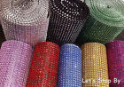 Kyпить Diamond Rhinestone Ribbon Mesh Wrap Wedding Party Floral Decorations Supplies  на еВаy.соm