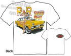 1955 Ford Gasser T-shirt Speed Shop T Shirts Hot Rod Pinup Tee Sz M L XL 2XL 3XL
