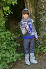 Crusader Knight King Arthur fancy dress BNWT 3-11yr Boys Book Week Costume Sword