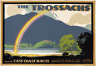TX53 Vintage 1920's The Trossachs Scotland LNER Railway Travel Poster A1/A2/A3