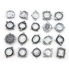 1Pcs Man Silver Tone Quartz Assorted Choose Jewellery Craft Watch Face Findings