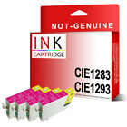 4 Magenta T1284 OR T1294 COMPATIBLE INKS REPLACE FOR STYLUS PRINTER
