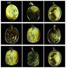 Carved Shell butterfly horse head flower tree dolphin turtle portrait Pendant