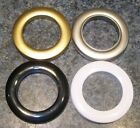 Pack of 4 Rufflette Jupiter Rings for Eyelet Curtains/36mm/Choice of Colours