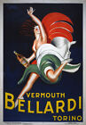 AZ03 Vintage 1927 Vermouth Bellardi Alcohol Drink Advertisement Poster A1/A2/A3