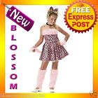 CK21 Purrty Kitty Pink Leopard Jungle Fancy Dress Party Child Halloween Costume