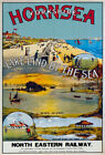 TR69 Vintage Hornsea Yorkshire North Eastern Railway Poster Print A1 A2 A3