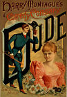 TH67 Vintage Comedy 'Dude' Theatre Poster Art A1 A2 A3