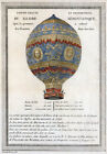 AD1 Vintage 1786 French Hot Air Balloon Advertising Advertisment Poster A1 A2 A3