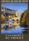 T96 Vintage French Thouet Valley Travel Poster A1 A2 A3