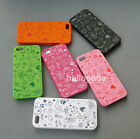 7-Color Cute Magic Happy Hard Case Cover for iPhone 5 5G+Free Screen Protector