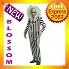 C90 Mens Licensed Beetlejuice Fancy Adult Halloween Costume ML XL