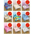 4 in 1 CHARACTER BEDDING BUNDLES TO FIT JUNIOR BED - OFFICIAL - FREE DELIVERY