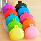 New Candy Lady/Girl/Women Silicone Coin Purses  Rubber Wallets Bag U pick color