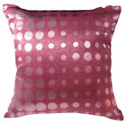 EC010 Light Victoria Rose Polka Dot Cushion Cover/Pillow Case *Custom Size*