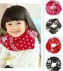 Cute Children Kids Baby Neckerchief SnowFlake Warm Neck Round Scarf Shawl Wraps