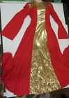 Praise Dress Church Dance Gold Metallic Inset 4 Colors ch/adl over 100 available