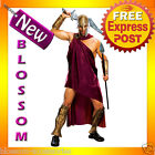 C45 Mens 300 Movie Spartan Deluxe Greek Roman  Fancy Dress Adult Costume