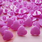 Purple Heart 13mm Plastic Buttons Sewing Scrapbooking Collectable Craft CHB