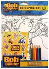 COLOURING SET + STICKERS **BEN 10*HELLO KITTY**PEPPA PIG*MOSHI MONSTERS*DINOSAUR