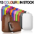 NEW PULL UP TAB POUCH COVER LEATHER CASE FOR SAMSUNG MONTE GT-S5620 MOBILE PHONE