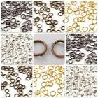 Plated Jump or Split Rings - CHOICE OF PLATINGS & SIZES