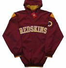 Washington Redskins NFL Big & Tall Sizes Hooded Pullover Quarter Zip Jacket-NWT