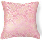 BL105a Lt.Gold Hot Pink Lt.Pink Dragon Rayon Brocade Cushion Cover*Custom Size